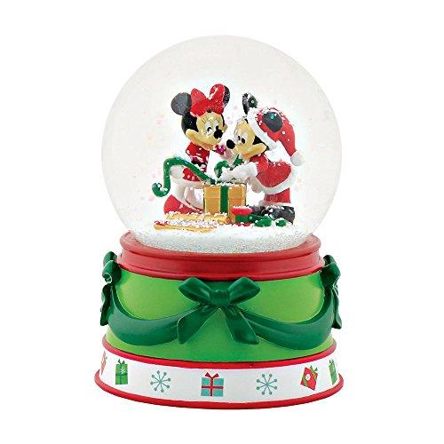 - Department 56 - Mickey & Minnie Snow Globe