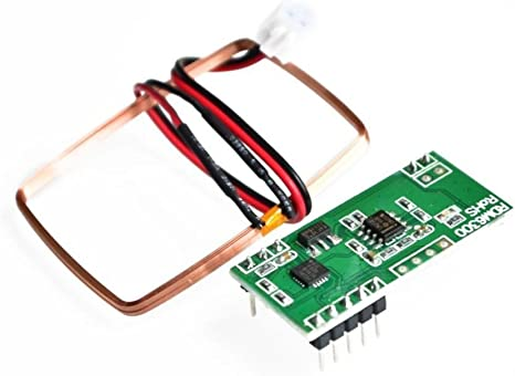 WINGONEER RDM6300 125Khz EM4100 RFID Reader Module UART Output Access Control System for Arduino