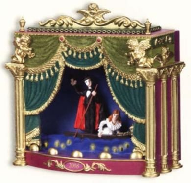Carlton Cards Heirloom Ornament Phantom of the Opera 2006