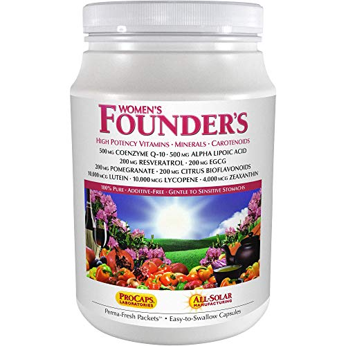 Andrew Lessman Multivitamin – Women's Founders 120 Packets – More Than 40 Nutrients Plus High Potencies of Essential Vitamins, Minerals, Phytonutrients & Carotenoids. Easy-to-Swallow. No Additives