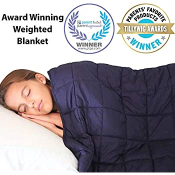 Supersoft 10 lbs Weighted Blanket for Kids and Teens - 48