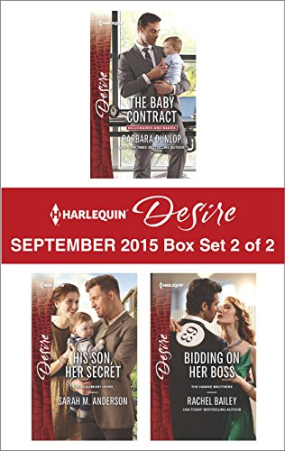 Harlequin Desire September 2015 Box Set 2 Of 2 The Baby Contract