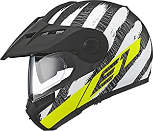 Schuberth E1 Adventure Helmet - Hunter Yellow - Large (59)
