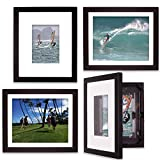 EZ Change Frames for 8x10 or 5x7 pictures(4, Black)