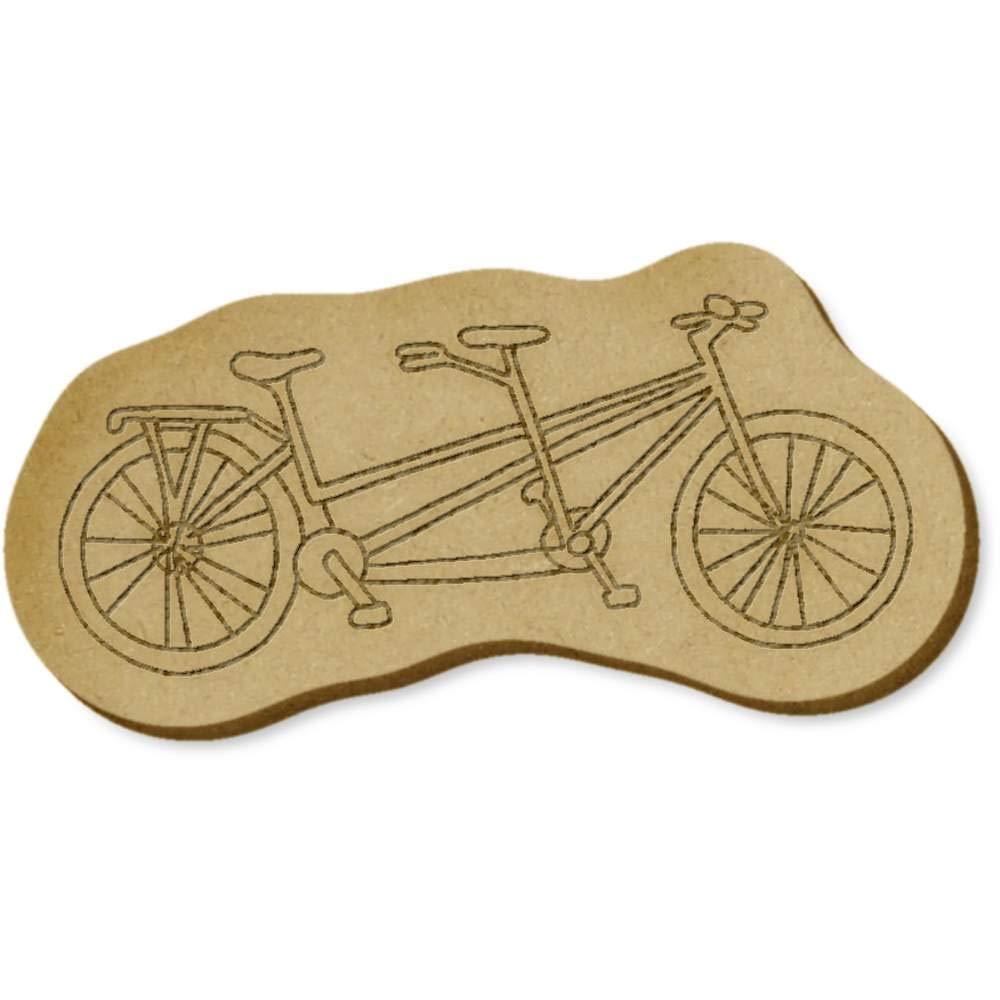 Azeeda 6 x Bicicleta Tandem MDF Embellecimiento (EB00018094 ...