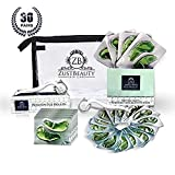 Cheap Ice Roller and Collagen Under Eye Pads Set- Eye Masks Vitamin & Aloe Extract (30pairs) Dark Circles Eye Bags Depuffing Treatment– Ideal Size For Face,Eye Puffiness,Anti Aging,Wrinkles-With Free Zipbag