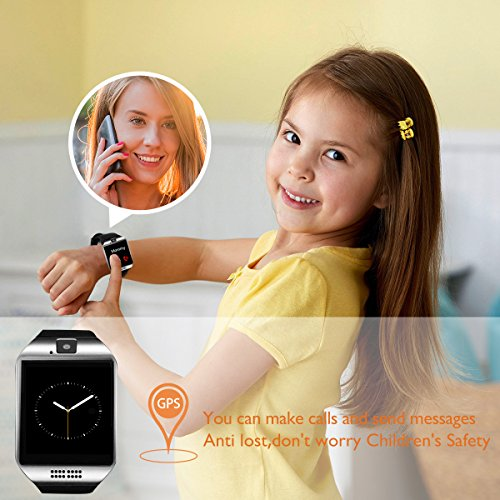 Bluetooth Smart Watch with Camera Waterproof Smartwatch Touch Screen Phone Unlocked Cell Phone Watch Smart Wrist Watch Smart Watches for Android Phones iOS Smartphone Men Women Kids by IFUNDA (Image #5)