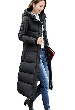 doudoune longue genou femme