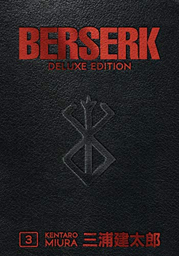 Book cover from Berserk Deluxe Volume 3 by Kentaro Miura