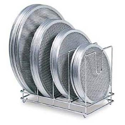 - American Metalcraft 18040 Pizza Screen Rack, Chome-Plated Steel, Holds 96 Screens