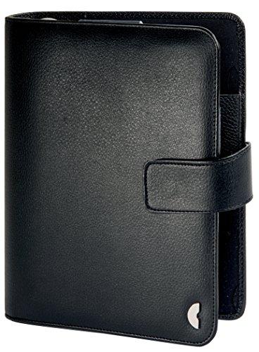 Avery Zweckform 50103 - Carpeta de piel con cierre para agenda de tamaño A5 (220 x 240 mm), color negro