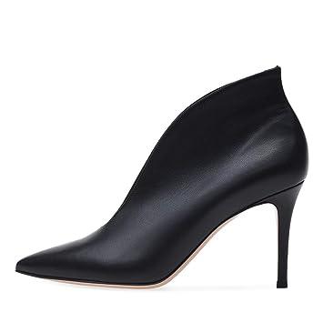Sandalette-DEDE Zapatos para Mujer/Botas Zapatos de Mujer Europeos y Americanos con Tacones