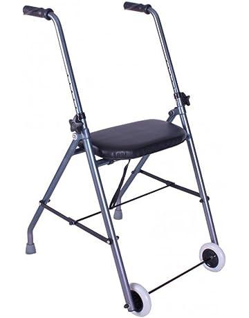 Andador de aluminio muy ligero y plegable | Fácil uso y transporte | Caminador para adultos