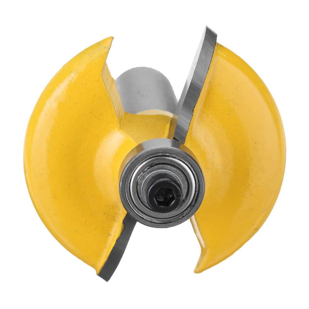 Xueliee Routeur de bordure avant porte Euro Euro Ogee 1//2 pouce Fraise de coupe pour bois