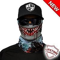 Sa Empresa Unisex tiburón diseño de Cara Caps