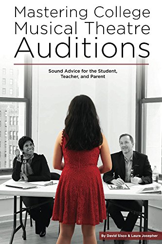 Mastering College Musical Theatre Auditions: Sounds Advice for the Student,  Teacher, and Parent