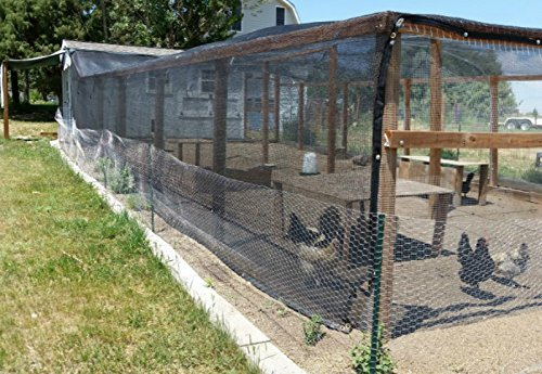 Agfabric 60% Greenhouse Shade Cloth Cover with Grommets 8' X 12', Black by Agfabric (Image #4)