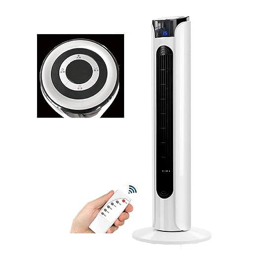 GXH Ventilador de Torre silencioso oscilante con Mando a Distancia ...