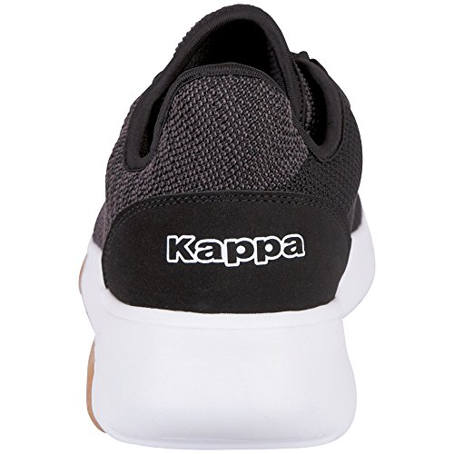 Adulte Blanc Noir Noire Part 1110 Unisexe Baskets Kappa fIAPqOn