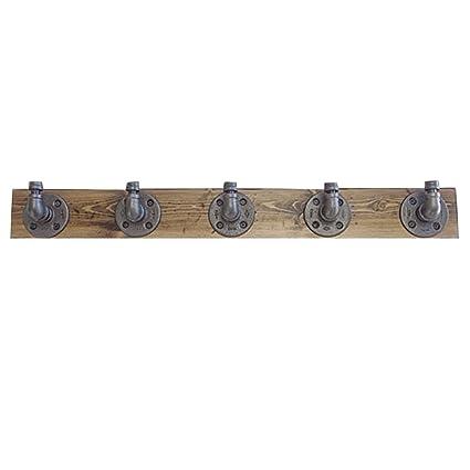 Perchero - Percha de pared de madera maciza Fontanero ...
