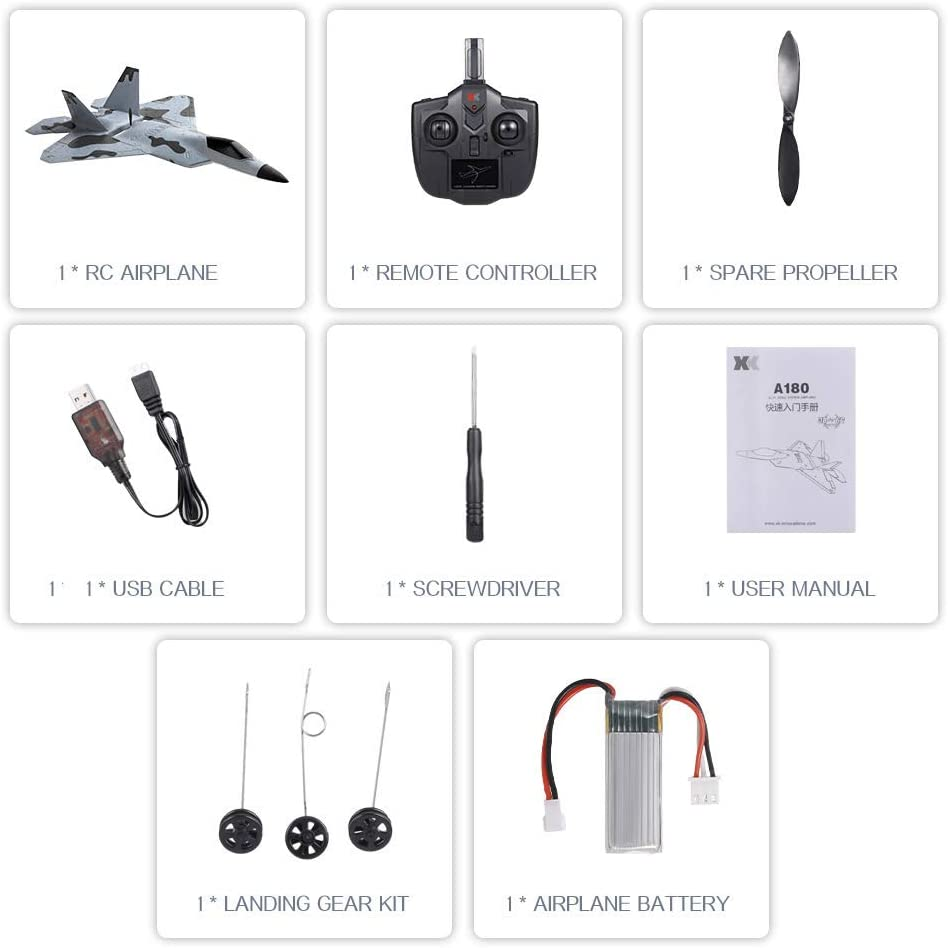 Toys & Games Airplanes & Jets Brushless Motor and 1 Batteries ...