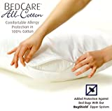 BedCare All-Cotton Allergy Pillow Cover (2, King)