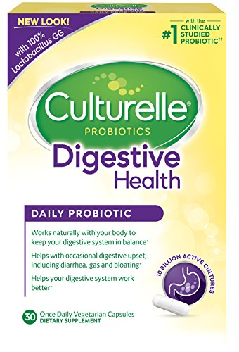 Culturelle Daily Probiotic Formula, Digestive Health Capsules,30 count