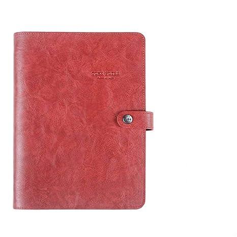 ZHOUXY A5 Tapa Blanda Cuaderno De Anillas En Espiral ...