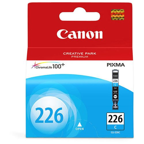 Sd Cyan Toner Printing - NEW CANON OEM INKJET INK FOR IP4820 - 1-CLI226C SD CYAN INK (Printing Supplies)