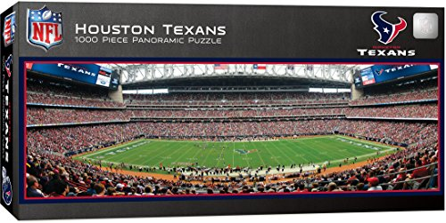 MasterPieces NFL Houston Texans 1000 Piece Stadium Panoramic Jigsaw Puzzle