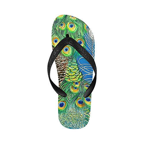D-verhaal Peacock Feather Slippers Strand Sandalen Voor Heren / Dames