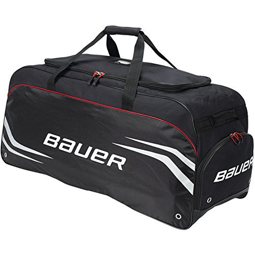 Bauer Premium S14 Large Hockey Equipment Carry Bag Black 1043324 (Bauer Skates Bag)