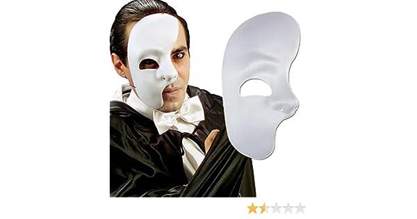 NET TOYS Media máscara de Fantasma de la ópera Antifaz Medio ...