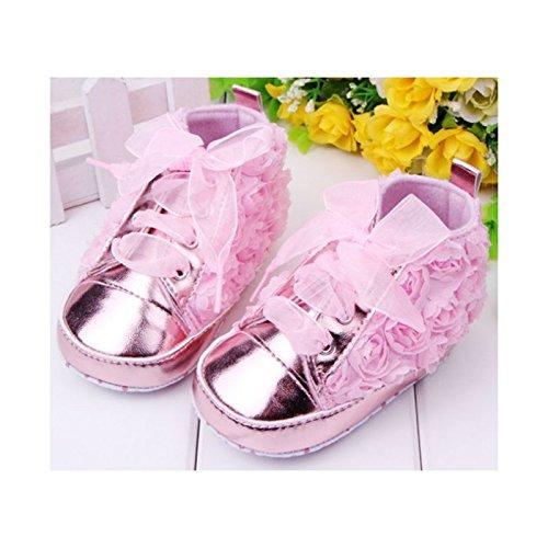 La panoplie Des Petits, Mädchen Babyschuhe - Krabbelschuhe & Puschen  rosa rosa 9-12 Monate