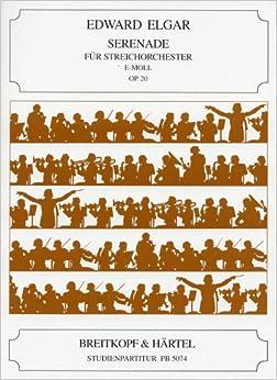エルガー: 弦楽のためのセレナーデ Op.20/ブライトコップ & ヘルテル社/スタディ・スコア