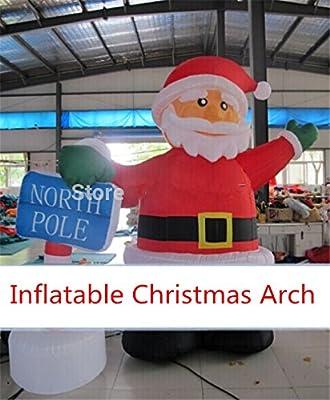 uuni-wt ® arco hinchable, diseño de Papá Noel hinchable de Navidad ...
