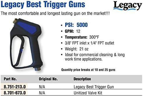 Legacy 8.751-213.0 Pressure Washer Trigger Gun 5000psi//12gpm