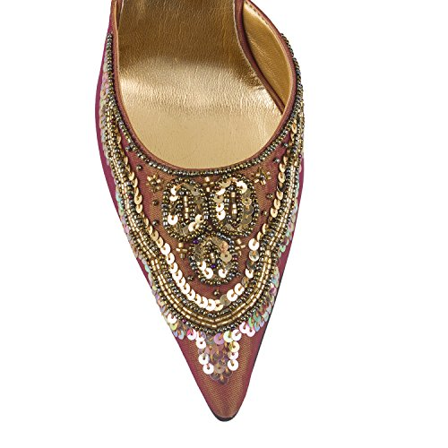 FARFALLA zapatos de lujo Dorado - dorado