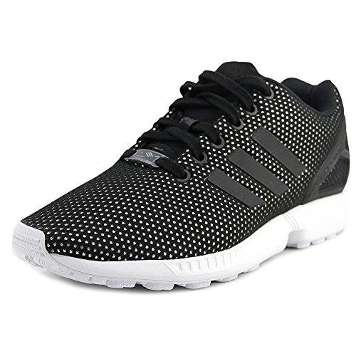 Adidas Originaler Kvinners Zx Flux W Mote Sneaker, Svart / Svart / Hvit, 8,5 M Oss