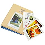 Photo Album - Pistha Photo Album with 64 Pockets for Mini Instax Photos (Creamywhite)