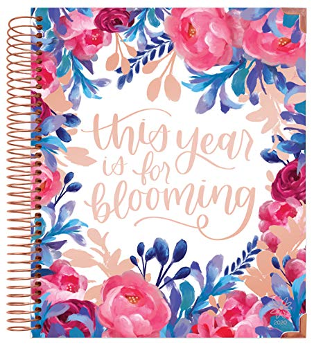 bloom daily planners 2020 Hardcover Calendar Year Goal & Vision Planner (January 2020 - December 2020) - Monthly/Weekly Column View Agenda Organizer - 7.5