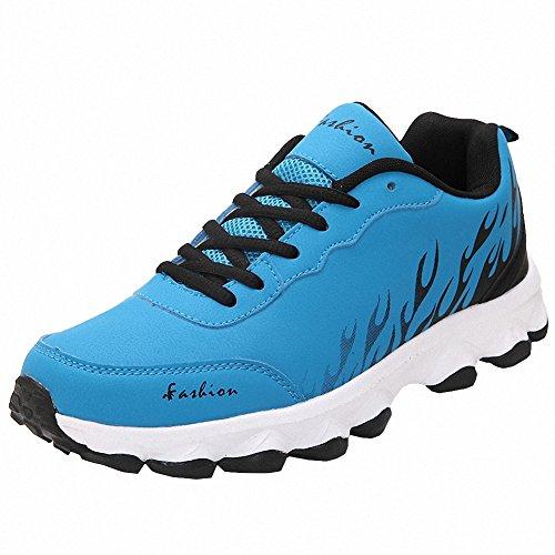 Ben Sport Damen Mens Mode Turnschuhe laufen Walking Sportschuhe Blau