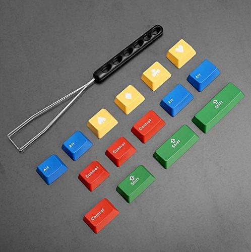 Price comparison product image Vortex IKBC Double-Shot PBT RGBY Mechanical Keyboard Keycaps