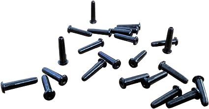 2.8mm x 6mm White Badminton Grommets 200 Pack