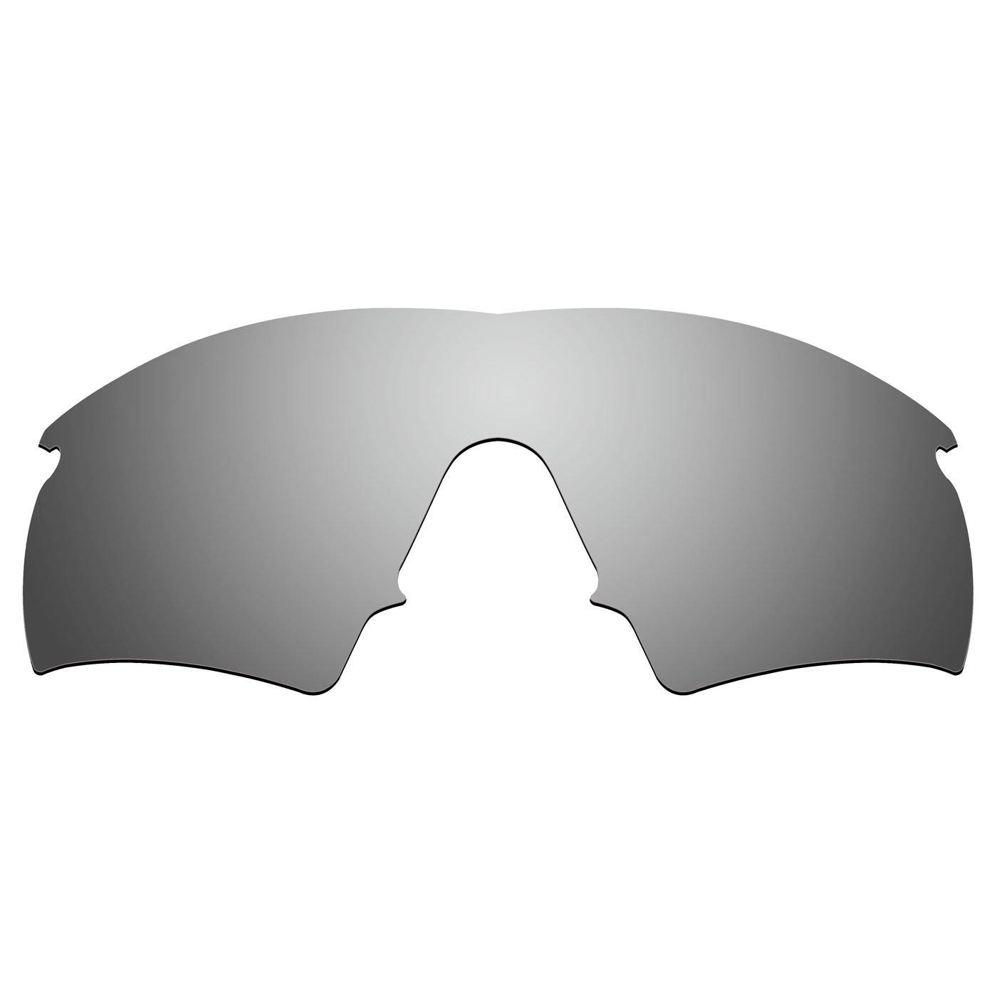 8fa8499ffa ACOMPATIBLE Replacement Lenses for Oakley M Frame Hybrid New (1999 Year)  Sunglasses (Titanium Mirror - Polarized)  Amazon.co.uk  Sports   Outdoors