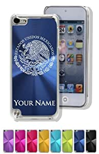 iPod 5 Case/Cover - FLAG OF MEXICO - Personalized for FREE (Click the CONTACT SELLER button after purchase and send a message with your case color and engraving request)