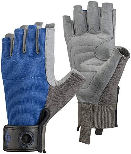 (Black Diamond Crag Half-Finger Climbing Gloves, Cobalt, Small)