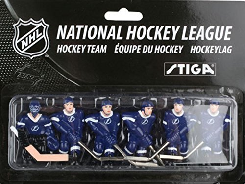 NHL Tampa Bay Lightning Table Top Hockey Game Players Team Pack