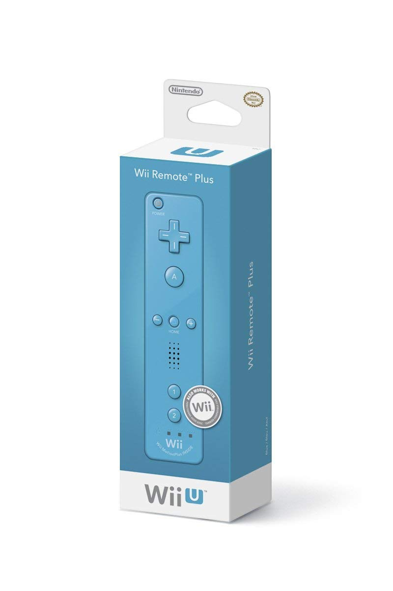 Nintendo Wii Remote Plus - Blue (Renewed)