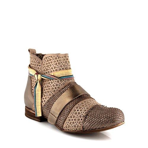 Felmini - Zapatos para Mujer - Enamorarse com Edu 9641 - Botines con cremallera - Cuero Genuino - Varios colores Varios colores